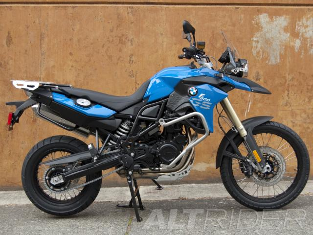 Installed Altrider Crash Bars For The Bmw F 800 Gs 2 House Of Motorrad